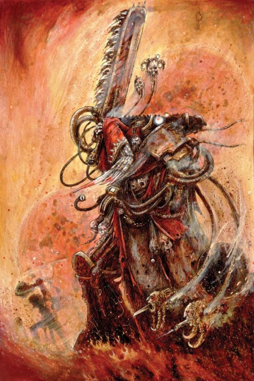 During the Horus Heresy, swathes of the Cult Mechanicum followed Horus and turned to the worship of the Dark Gods.