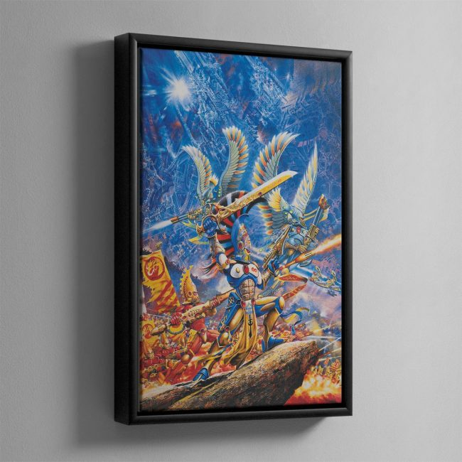 ASPECT WARRIORS – Framed Canvas