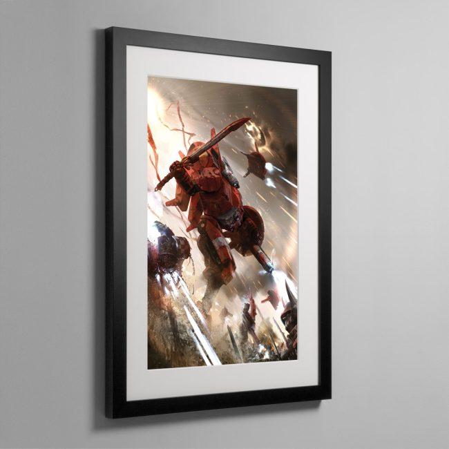 COMMANDER FARSIGHT – Framed Print