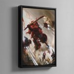 COMMANDER FARSIGHT – Framed Canvas