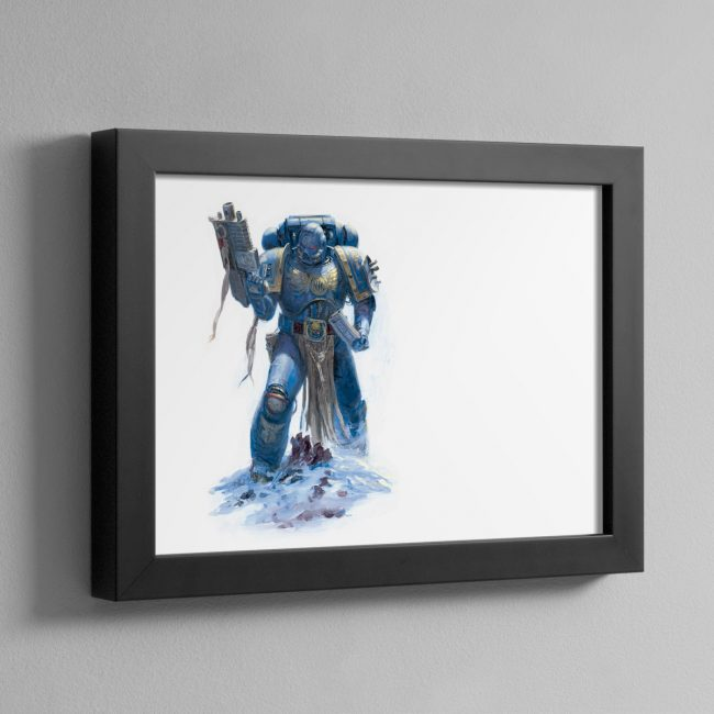 ULTRAMARINE – Framed Print