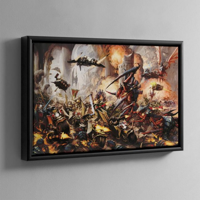 BEHEMOTH – Framed Canvas