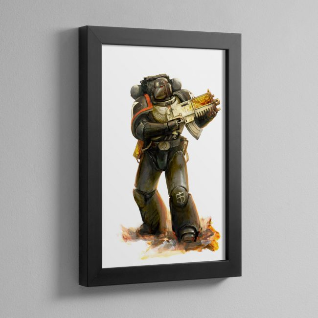 RAVEN GUARD – Framed Print