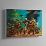 TAU PATHFINDERS – Canvas Print