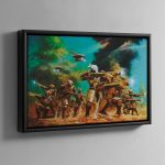 TAU PATHFINDERS – Framed Canvas