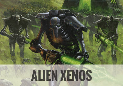 Alien Xenos - Warhammer Art