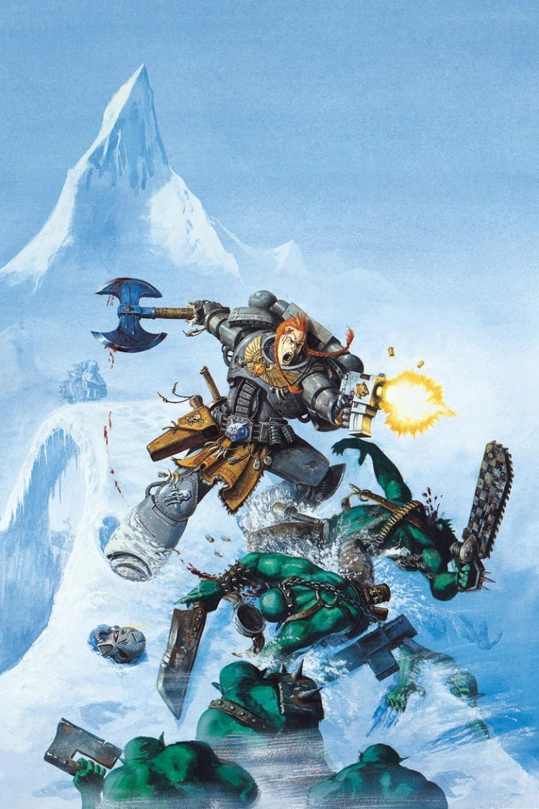 Space Wolves Cover