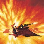 This classic image first appeared on the box cover for the Dark Eldar Raider kit.
