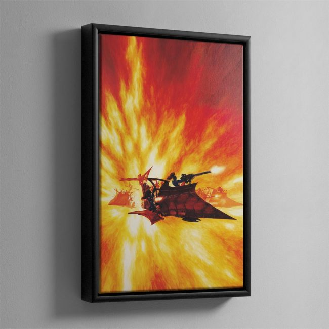 RAIDER – Framed Canvas