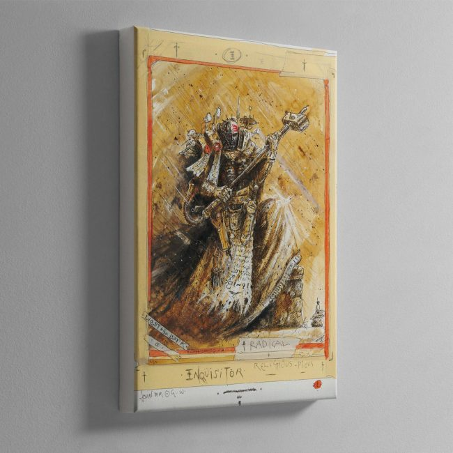 RADICAL INQUISITOR – Canvas Print