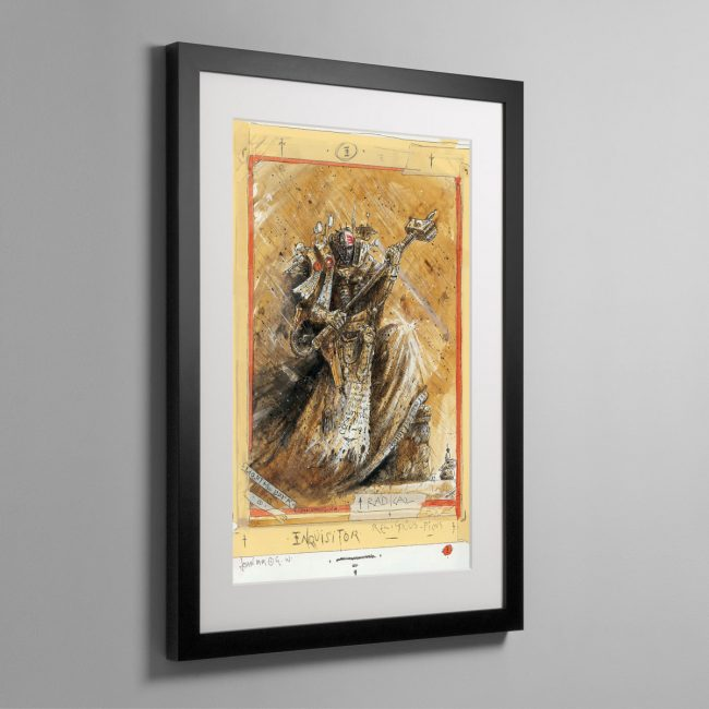 RADICAL INQUISITOR – Framed Print