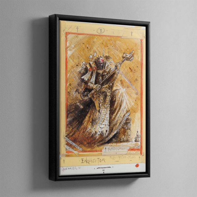 RADICAL INQUISITOR – Framed Canvas