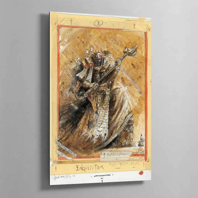 RADICAL INQUISITOR – Aluminium Print