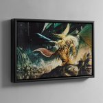 THE EMPEROR OF MANKIND – Framed Canvas