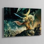 THE EMPEROR OF MANKIND – Aluminium Print