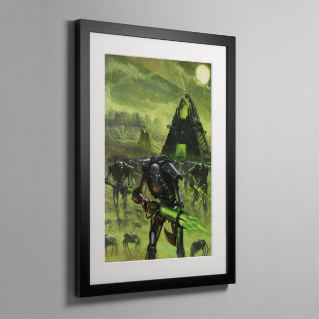 IMPLACABLE ADVANCE – Framed Print