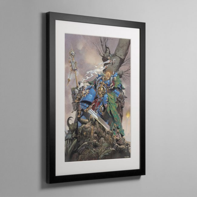 INQUISITOR HAND – Framed Print