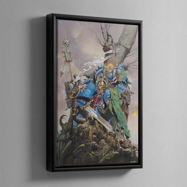 INQUISITOR HAND – Framed Canvas