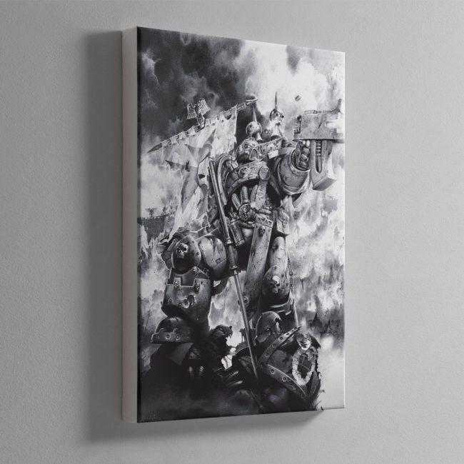 LAST STAND – Canvas Print