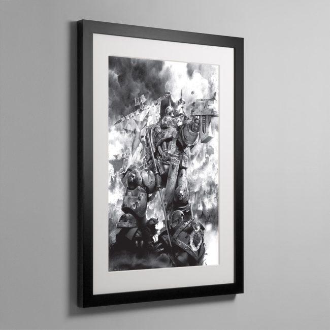LAST STAND – Framed Print