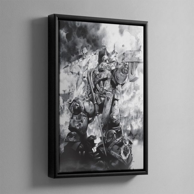 LAST STAND – Framed Canvas