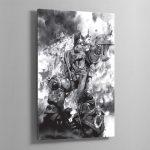 LAST STAND – Aluminium Print