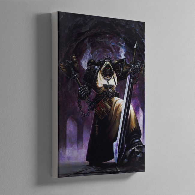 INTERROGATOR CHAPLAIN – Canvas Print