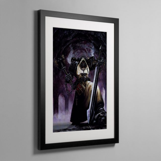 INTERROGATOR CHAPLAIN – Framed Print