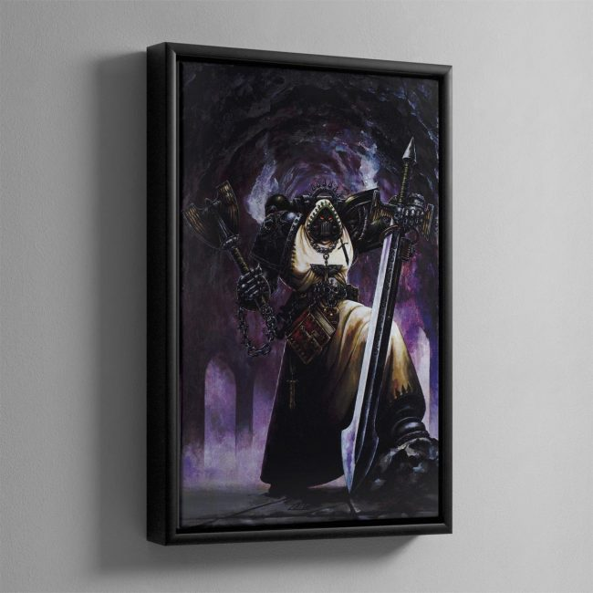 INTERROGATOR CHAPLAIN – Framed Canvas