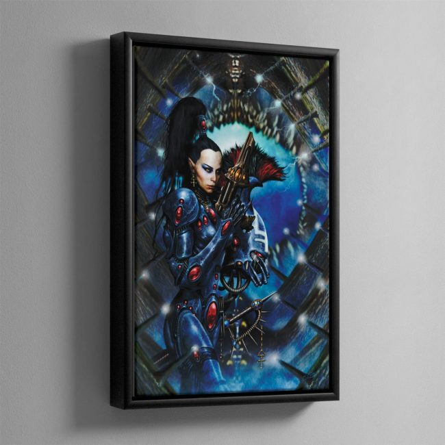 DIRE AVENGER – Framed Canvas