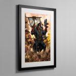 CIAPHAS CAIN – Framed Print
