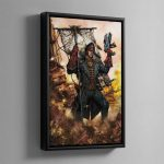CIAPHAS CAIN – Framed Canvas