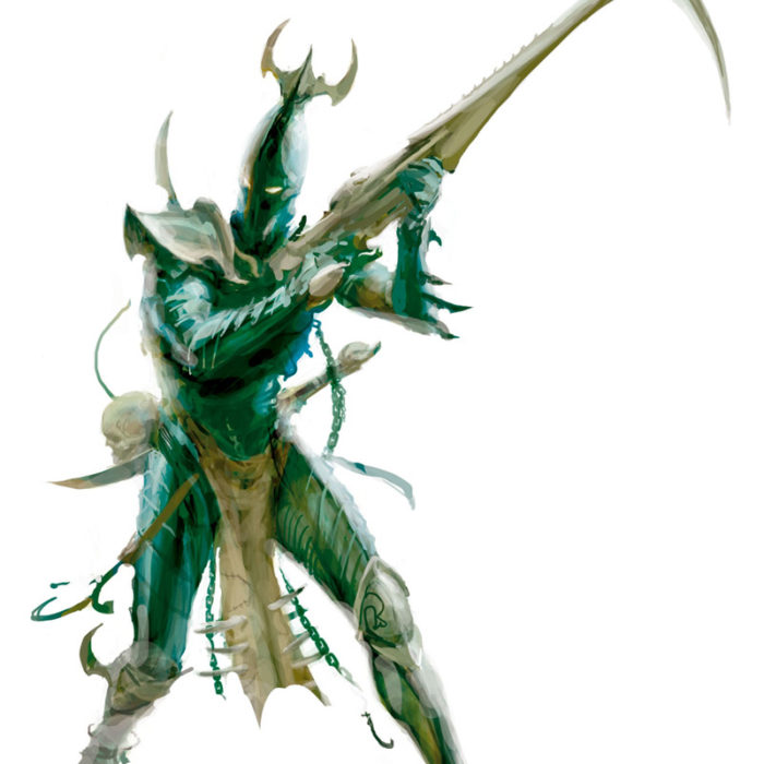 Kabalite warriors make up the mainstay of an Archon's forces.