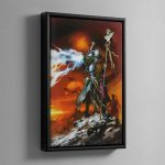 SANCTIONED PSYKER – Framed Canvas