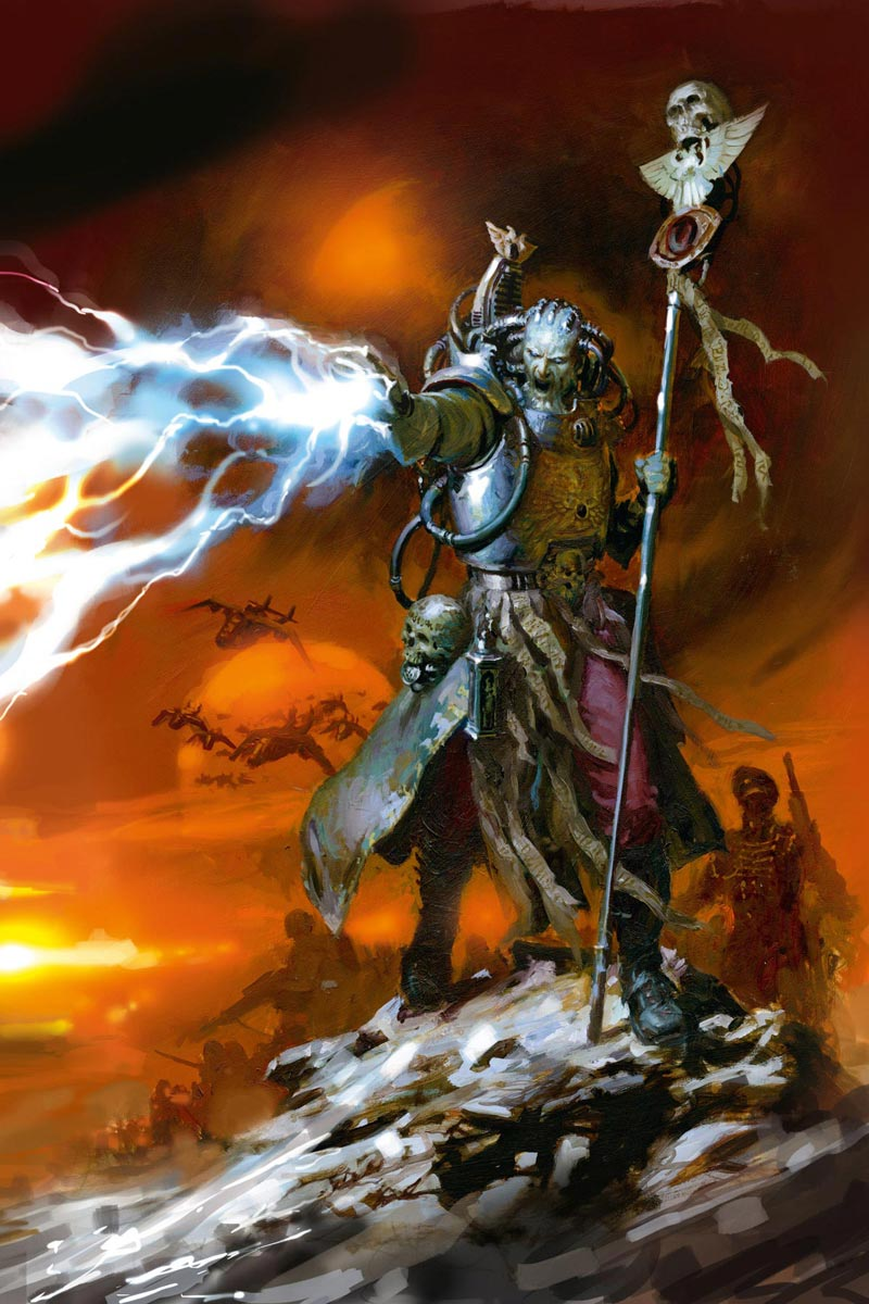 Sanctioned Psyker Warhammer Art