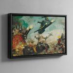 APOCALYPSE – Framed Canvas