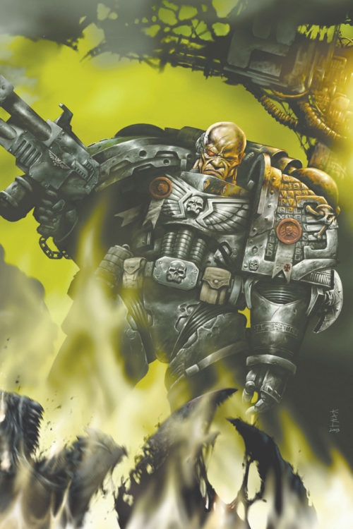 The Deathwatch draws Space Marines from all Chapters to root out Xenos menace where ever it is found.