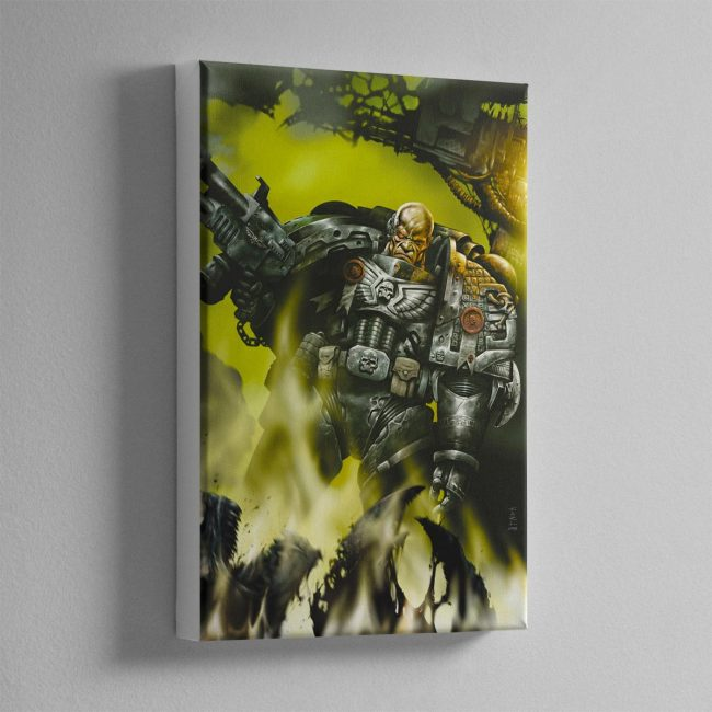 DEATHWATCH – Canvas Print