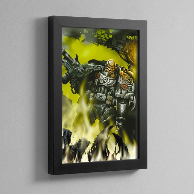 DEATHWATCH – Framed Print