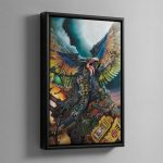 LORD OF CHANGE – Framed Canvas