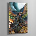 LORD OF CHANGE – Aluminium Print