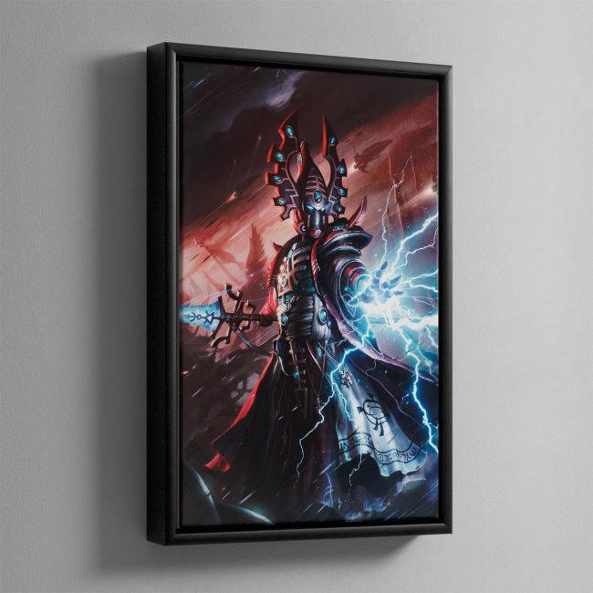 ELDAR FARSEER – Framed Canvas