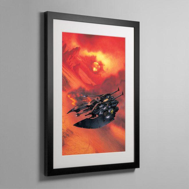 FALCON GRAV TANK – Framed Print