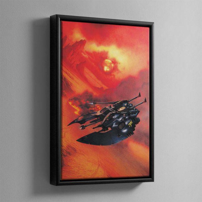 FALCON GRAV TANK – Framed Canvas