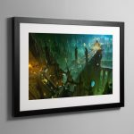 THE EMPEROR'S PALACE – Framed Print