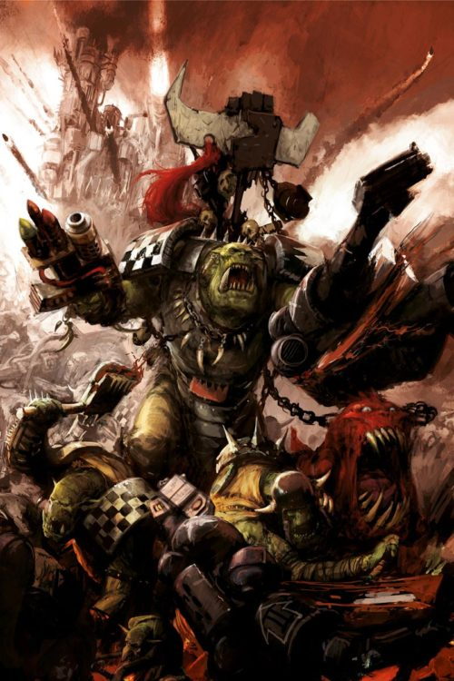 This Ork warboss led the Red Waaagh! against the Space Wolves in the Sanctus Reach campaign.