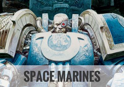 Space Marines - Warhammer Art