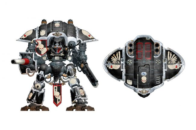 An Imperial Knight Freeblade.