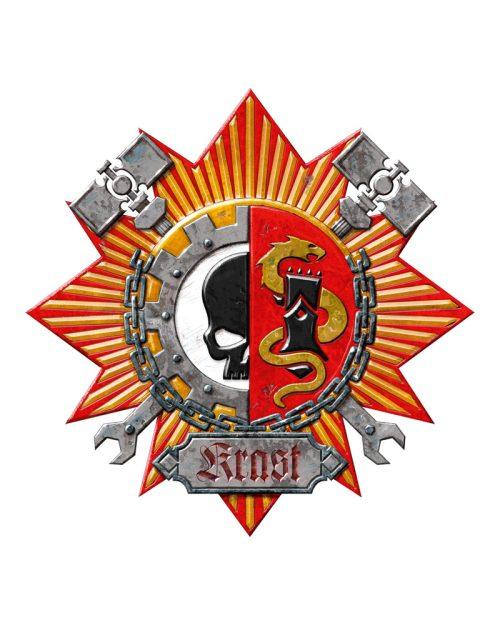 The Heraldic Crest for House Krast.