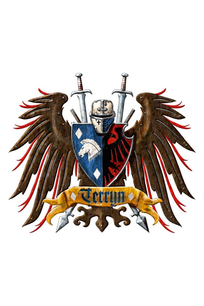 The Heraldic Crest for House Terryn.